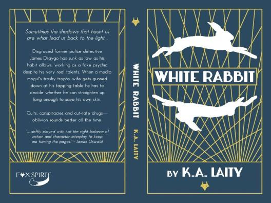 WHITE RABBIT Book Cover