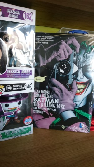 Killing Joke Graphic Novel and Joker Pop